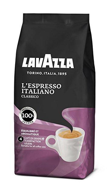 Lot de 4 paquets de café moulu Lavazza L'Espresso Italiano Classico (via Shopmium)