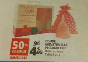 Coupe menstruelle Pharma Cup - taille S ou L