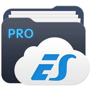 Application ES File Explorer/Manager PRO sur Android