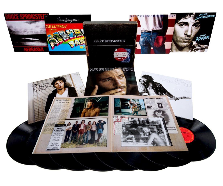 coffret 8 vinyles Bruce Springsteen Album Collection Vol 1 (1973-84)