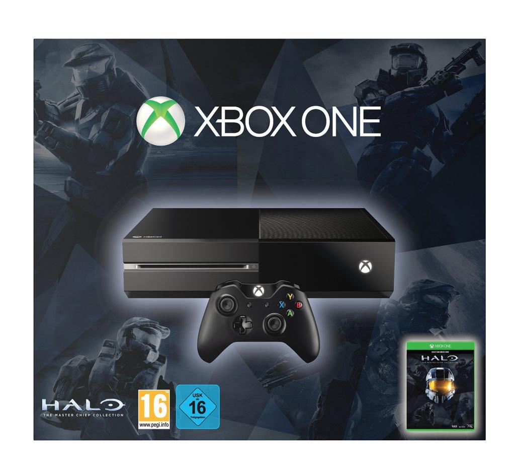 Console Xbox One + Halo: Master Chief Collection + 1 jeu au choix parmi une sélection