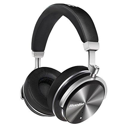 casque audio sans fil bluedio t4s noir avec microphone bluetooth. Black Bedroom Furniture Sets. Home Design Ideas