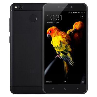 "Smartphone 5"" Xiaomi Redmi 4X Noir - HD, Snapdragon 435, RAM 3 Go, RAM 32 Go, 4G (B20)"