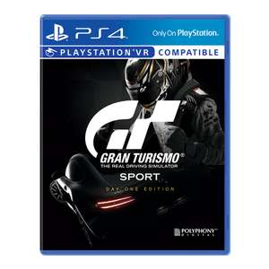 Gran Turismo Sport - Édition Day One VR sur PS4