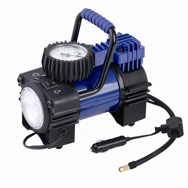 Mini compresseur NORAUTO - 12V, LED et manomètre
