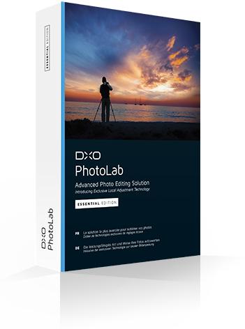 Logiciel DXO Photolab - Essentiel