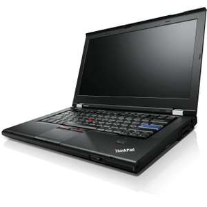 "Sélection de PC Portables Lenovo Thinkpad en promotion (Reconditionnés) - Ex : 14"" T420 (i5, RAM 4 Go, HDD 250 Go)"