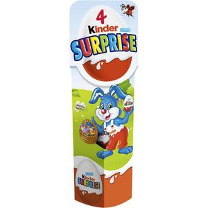 4 Kinder surprise (30% sur la carte + BDR de 1€)