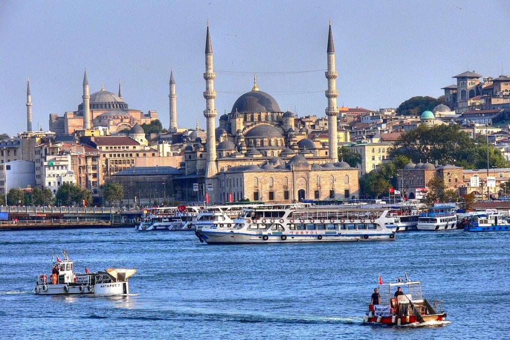 Vols Aller/Retour  au départ de Paris Orly direction  Istanbul