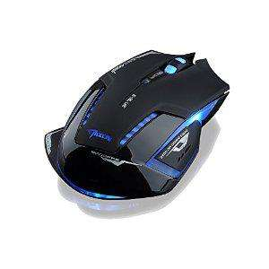 Souris Gamer  Patuoxun Sans fil E-3lue Mazer 2500 dpi LED bleue