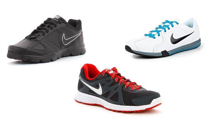 Sélection Baskets Nike Revolution, T-Lite XI ou Circuit Trainer II