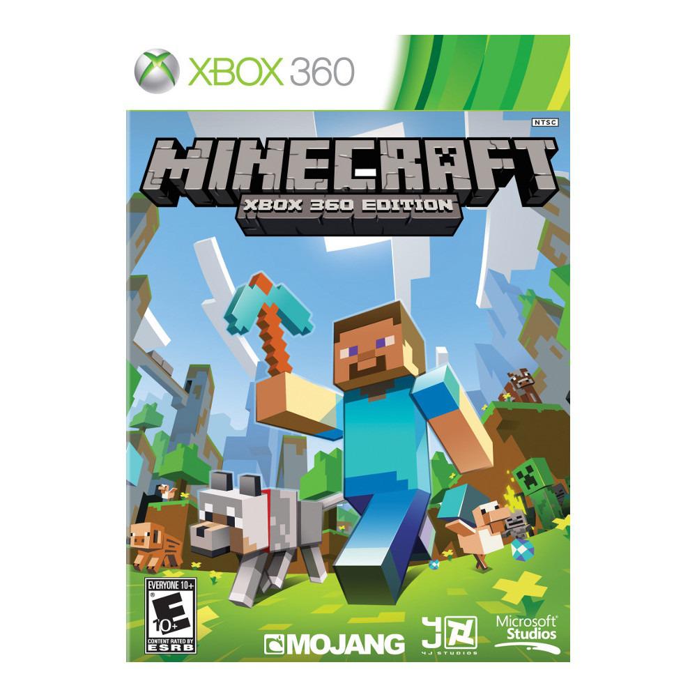 Jeu Minecraft sur Xbox 360