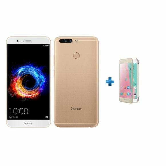 """Smartphone 5.7"""" Honor 8 Pro -  Quad HD, Kirin 960, RAM 6 Go, ROM 64 Go + Flip Case (Plusieurs coloris)"""