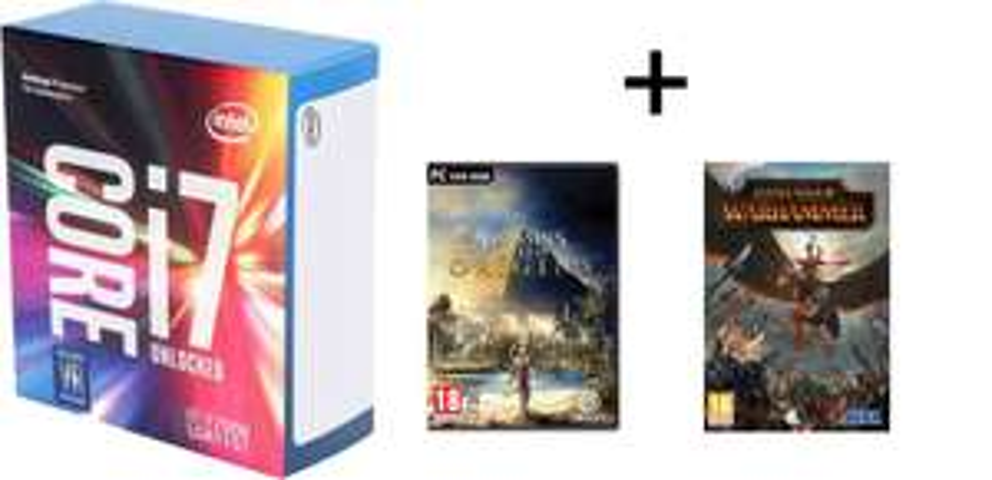 Processeur Intel Core i7 7700k + Assassins Creed Origins + Total war warhammer II