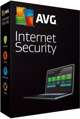 Licence 1 an AVG Internet Security 2018  gratuite sur PC