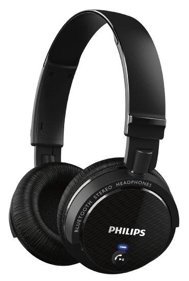 Casque bluetooth 3.0 Philips SHB5500BK/00 (avec fonction prise d'appel intégré) - Noir