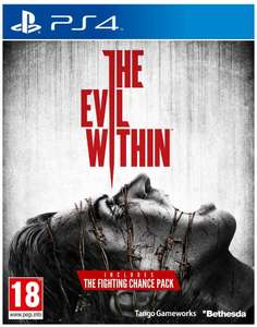 The Evil Within sur PC à 10€ et sur PS4