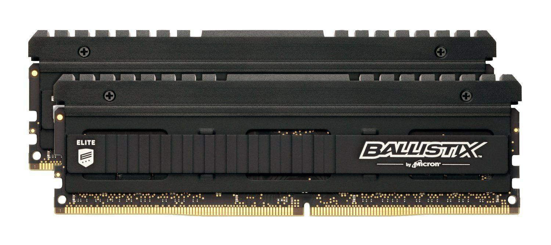 Kit Mémoire Ballistix Elite 16 Go (2 x 8 Go) - DDR4, 2666MHz, CL16