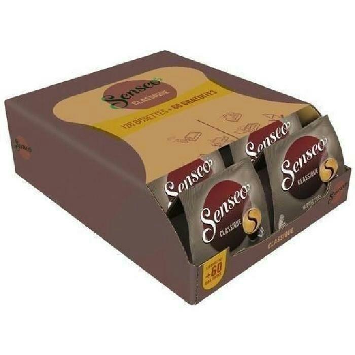Lot de 180 Dosettes de Café Senseo (Variétés au choix) - 1.25Kg