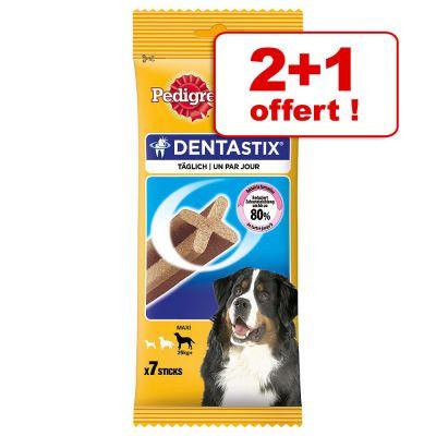 Lot de 3 paquets de friandises pour chien Pedigree Dentastix - différents variétés (frais de port inclus) à partir de 7.3€