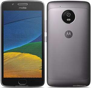 """Smartphone 5"""" Motorola Moto G5 - 16go, Android 7.0, Couleur Gris ou Or (Frontaliers Allemagne)"""