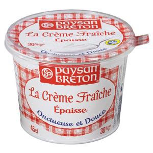 2 pots Crèmesfraîche épaisse Paysan Breton (0.70€ BDR et 0.35€ via prixing)