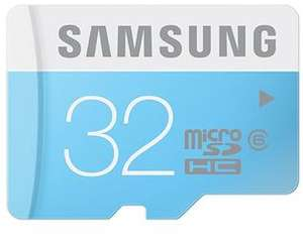Carte mémoire Micro SDHC Samsung - 32 Go - Classe 6