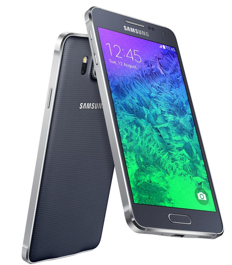 "Smartphone 4.7"" Samsung Galaxy Alpha 32Go Noir, Argent ou Or (70€ ODR)"