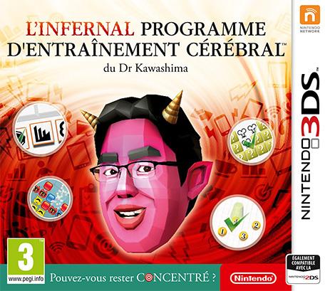 L'infernal programme d'entraînement cérébral du Dr Kawashima : Pouvez-vous rester concentré ? sur Nintendo 3DS (dématérialisé)