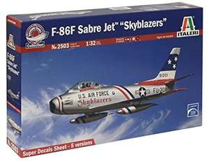 Sélection de maquettes en promotion (voir description) - Ex : Maquette Aviation F-86f Sabre Skyblazers Italeri 2503