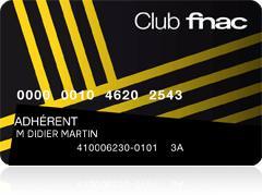 Carte Fnac Suisse 3 ans (Frontaliers Suisse)