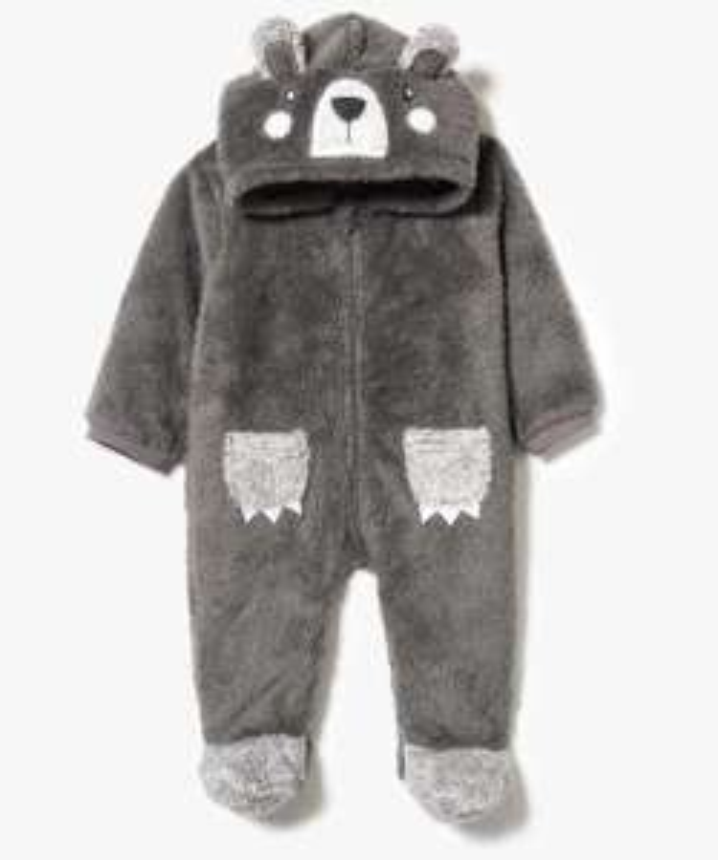 Sélection de combinaisons pyjamas en promotion - Ex : modèle ours pour enfant