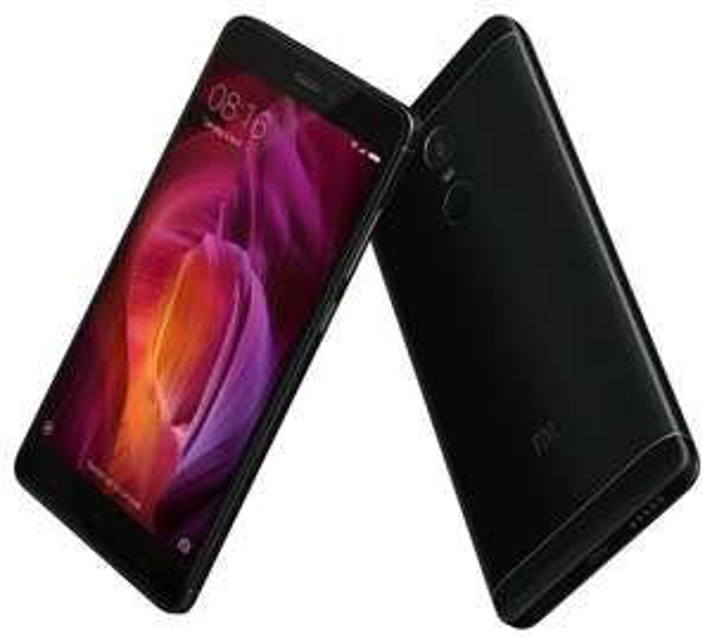 "Smartphone 5.5"" Xiaomi Redmi Note 4 (Global) Noir - Full HD, Snapdragon 625, RAM 4 Go, ROM 64 Go (Avec B20)"
