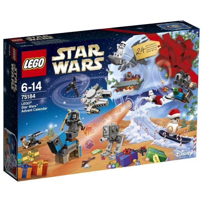 [CDAV] Jusqu'à 50% de réduction immédiate sur une sélection de jouets ou 25% de réduction pour tous - Ex : [CDAV] Calendrier de l'Avent 2017 Lego Star Wars 75184 à 12.45€