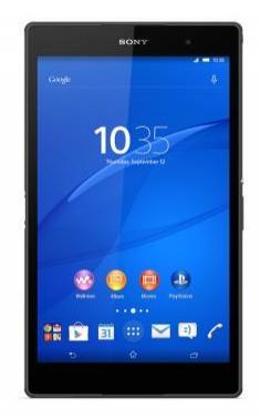 """[Adhérents] Tablette 8"""" Sony Xperia Z3 Tablet Compact 32 Go - Noire (+15€ en chèque cadeau)"""