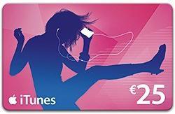 [Adhérents] 2 cartes iTunes de 25€