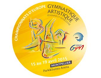 Places pour le championnat d'Europe de Gymnastique Artistique
