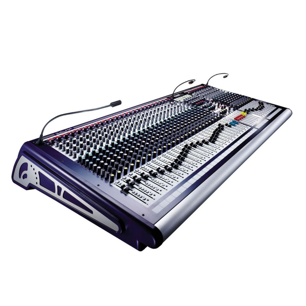 Table de mixage analogique Soundcraft GB4-40