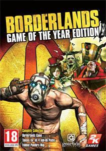 """Séléction de jeux sur PC 2K (Borderlands """"Game of The Year Edition"""", Borderlands 2, Mafia 2...)"""