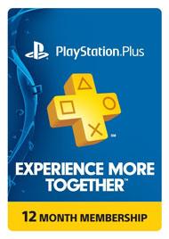 Code d'abonnement PlayStation Plus compatible PS3, PS4 & PS Vita - 1 An (Dématérialisé - Compte US)