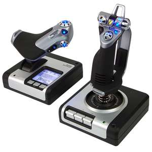 Joystick Gaming Saitek Throttle X52