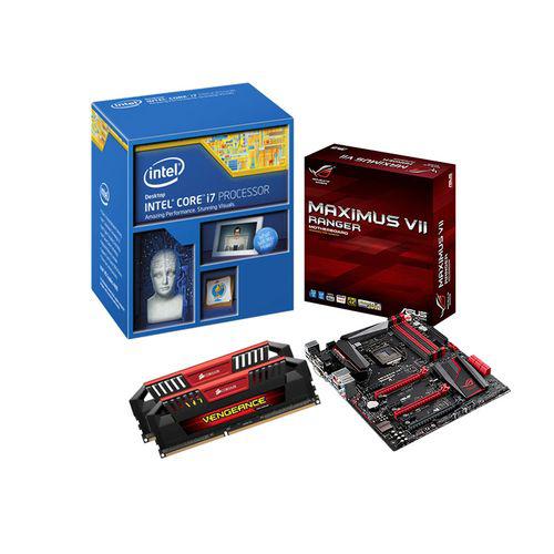 Kit Evo : Processeur Intel Core i7 4790K + Carte mère ROG Maximus VII Ranger + RAM Corsair DDR3 Vengeance Pro 8Go 1600 MHz