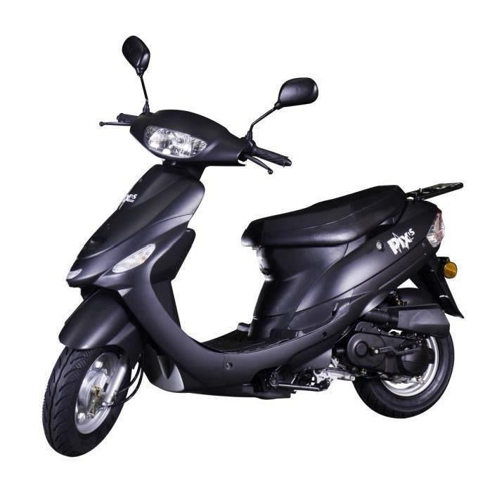 [Cdiscount à volonté] Scooter 50cc Beat Box Noir Mat CY50T-6
