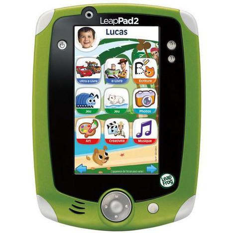 Tablette éducative Leapfrog LeapPad 2 - Vert