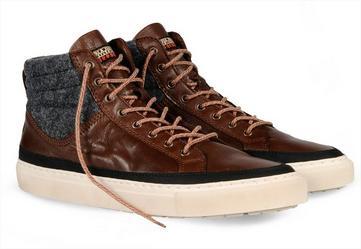 Vente privée Napapijri : Jusqu'à -75% sur une sélection d'articles - Ex: Chaussures Bever Felt