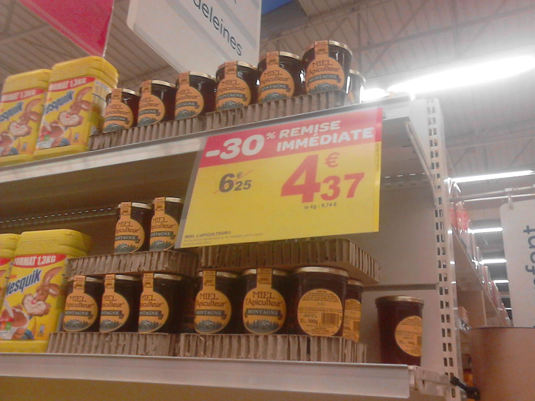 Miel de montagne L'apiculteur 500 Gr