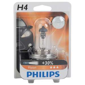 ampoule philips vision h4 pour voiture. Black Bedroom Furniture Sets. Home Design Ideas