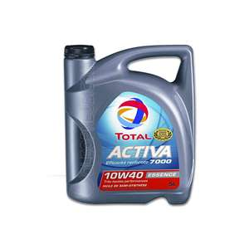 Huile moteur essence ou diesel Total Activa 10W40 5L (avec 50% sur la carte)