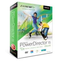 Application CyberLink PowerDirector 15 gratuite sur Windows (Dématérialisé)