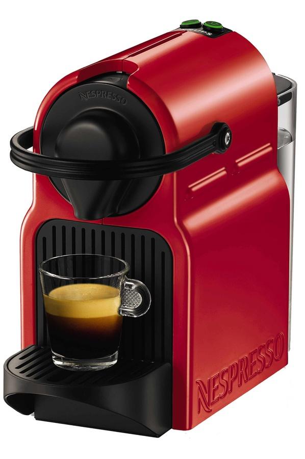 Machine à café Nespresso Inissia rouge + 130 Caspules